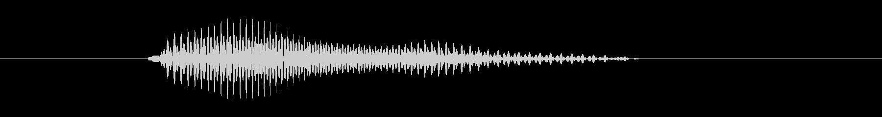 b,B,B(ビー)の未再生の波形