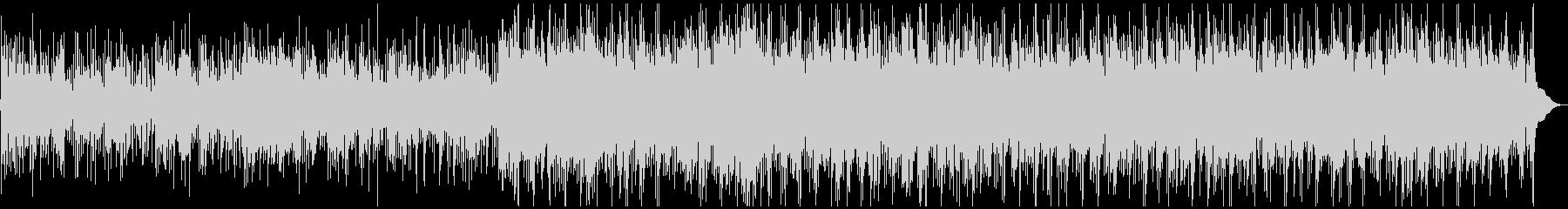軽快なケルティック風BGMの未再生の波形