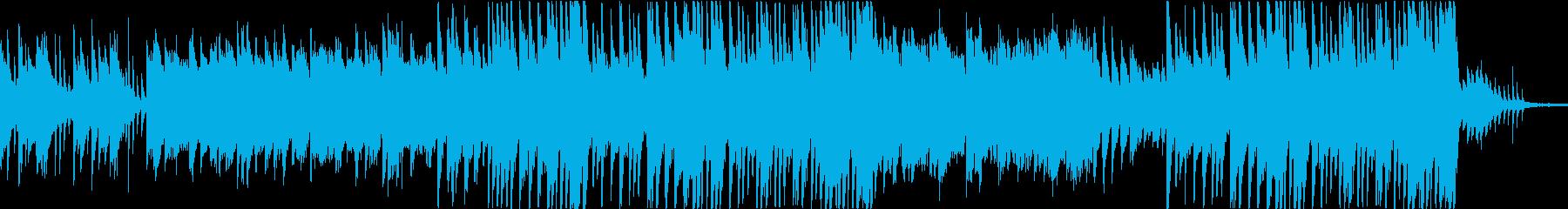 穏やかなピアノ曲4/OP・ED有の再生済みの波形