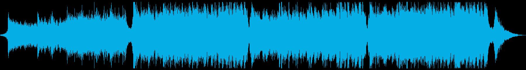 スポーツ格闘オーケストラx1回の再生済みの波形