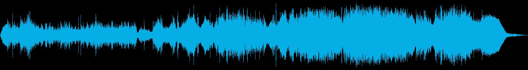 Groovy Space 3の再生済みの波形