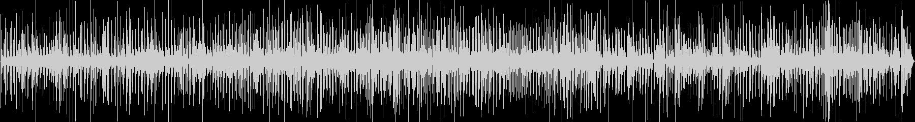 ジャズバーで流れるおしゃれなピアノトリオの未再生の波形
