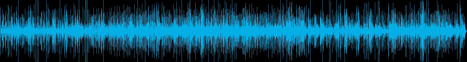 ジャズバーで流れるおしゃれなピアノトリオの再生済みの波形