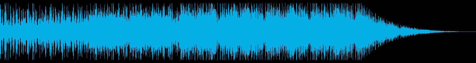 開放的/宇宙/エレクトロ_No602_3の再生済みの波形
