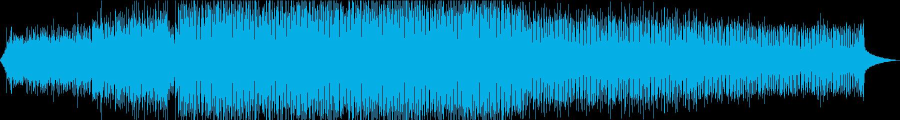 海、潮風、波の音をイメージした爽快EDMの再生済みの波形