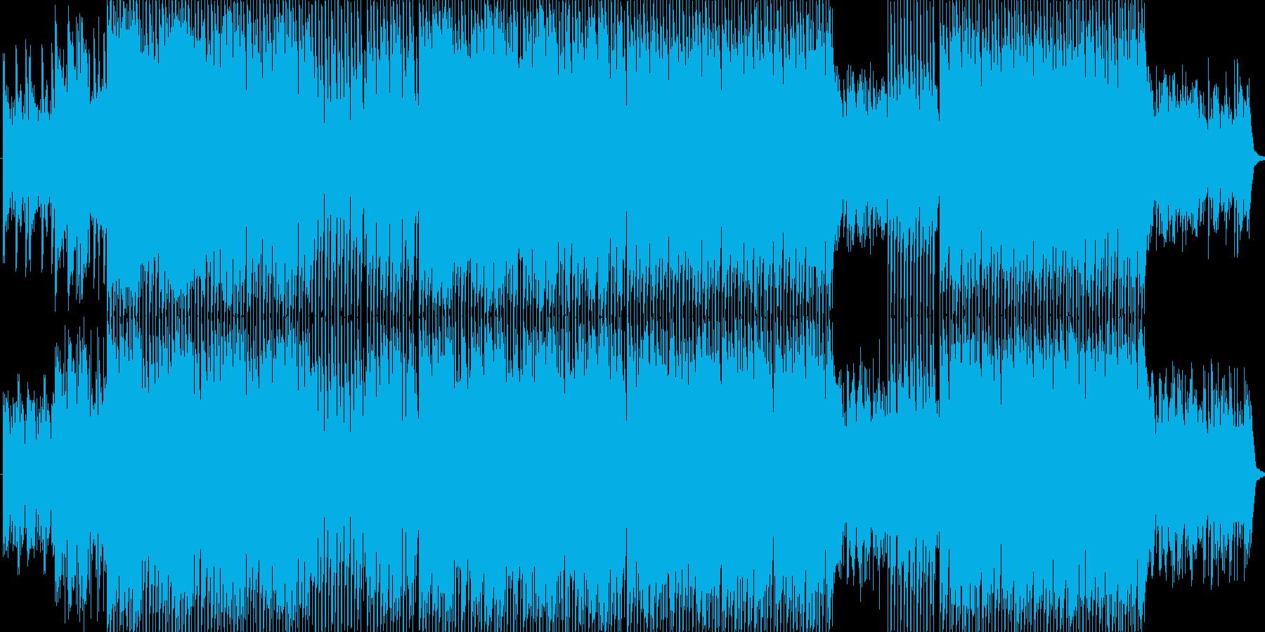 心くすぐるピュアなポップスの再生済みの波形