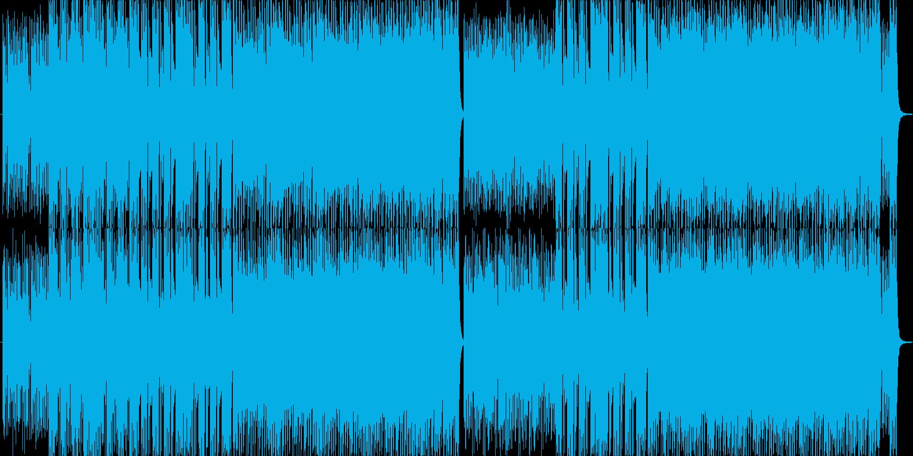 フレッシュなダンスポップスの再生済みの波形