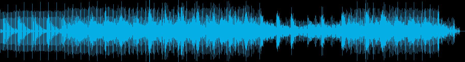 静かな緊張感をはらんだミニマルテクノの再生済みの波形
