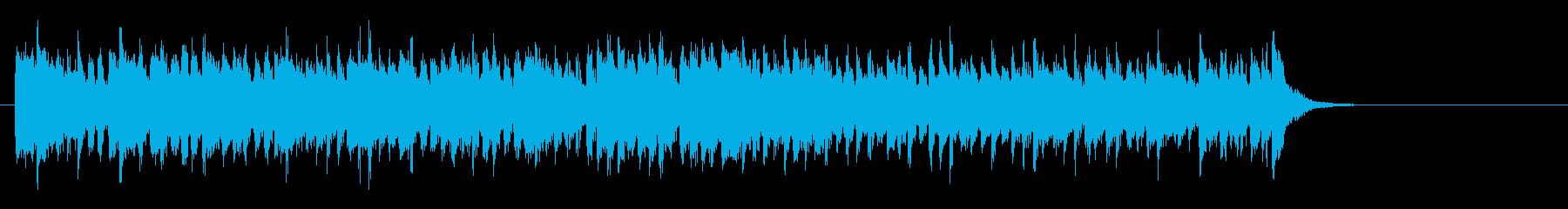 爽やかなミディアムポップ(サビ~エンド)の再生済みの波形