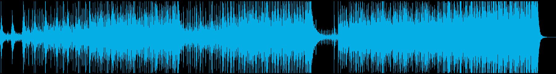 炎の太鼓の再生済みの波形