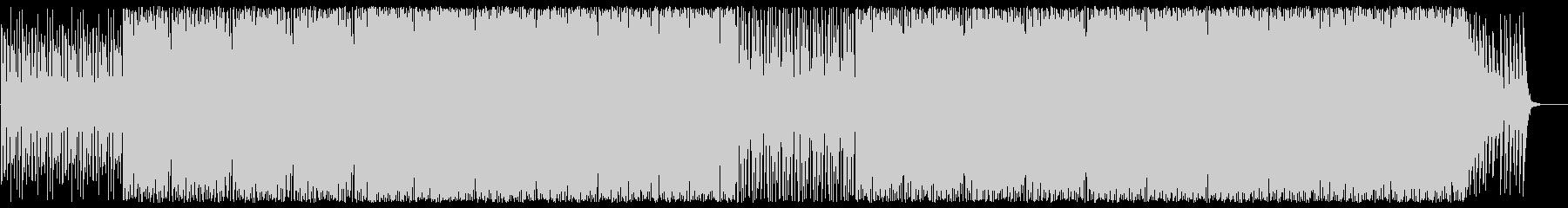 緩やかでクールなピアノテクノビートポップの未再生の波形