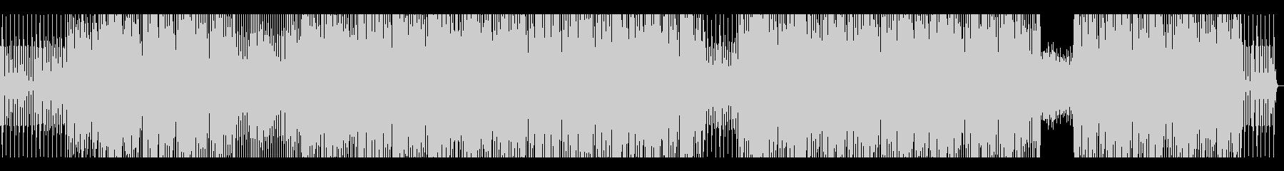 Piano house系インストの未再生の波形