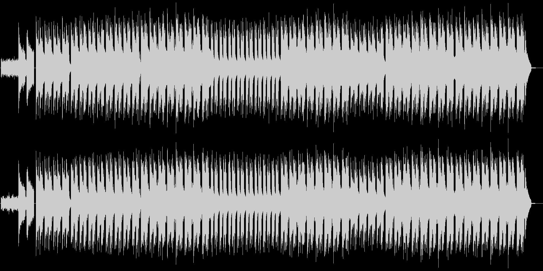 ゲーム 大会 ヒップホップの未再生の波形