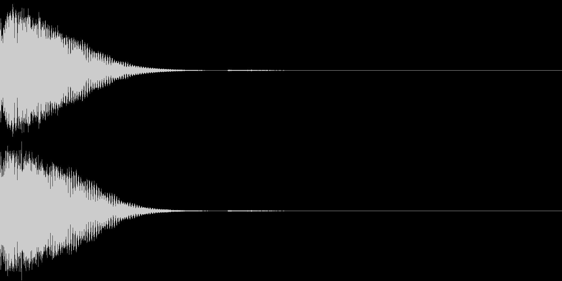 クリック音、キラン、キュイン、ピコン09の未再生の波形