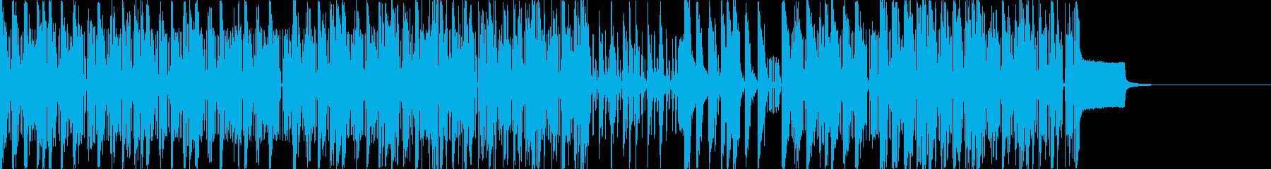 ヒップホップ/インド風のアーバンミ...の再生済みの波形