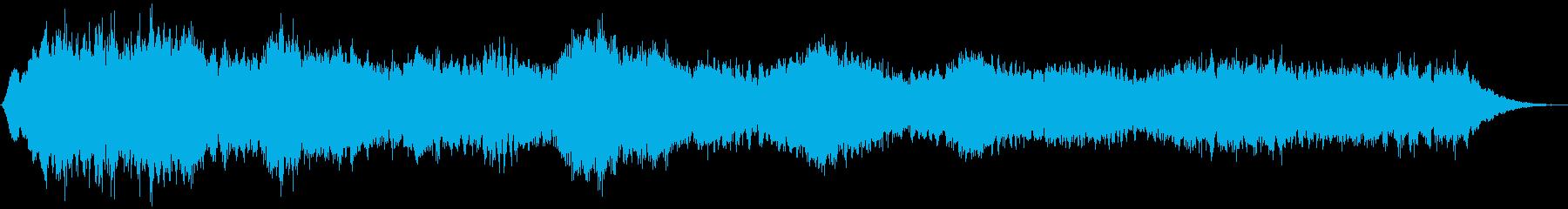 PADS 不気味な鐘01の再生済みの波形