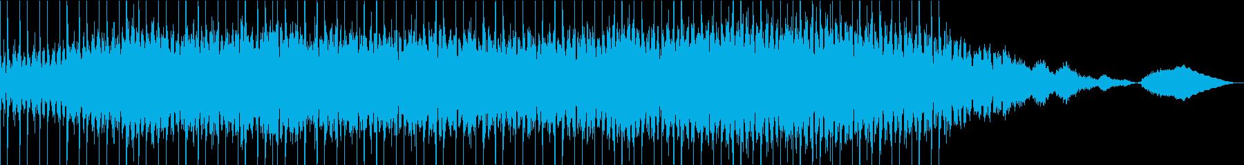 明るく未来的なシンセポップの再生済みの波形