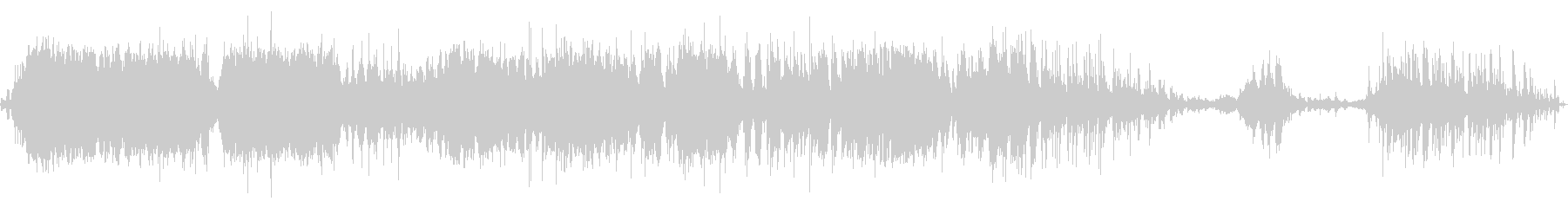 中級スタジオオーディエンス:拍手と...の未再生の波形