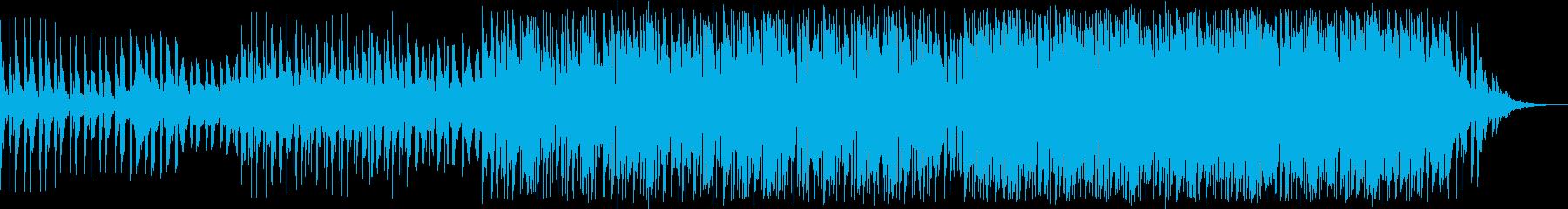 エレクトロニック 説明的 静か 平...の再生済みの波形