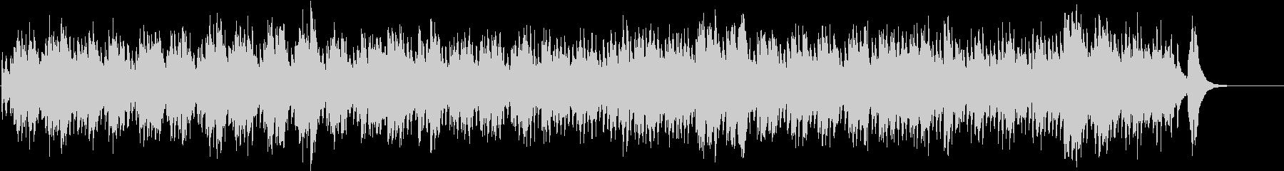 平均律第1番 前奏曲 バッハ ハープの未再生の波形