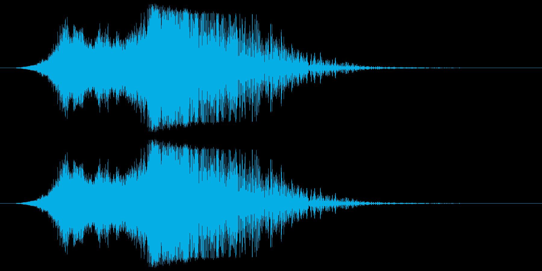 ミサイル01の再生済みの波形