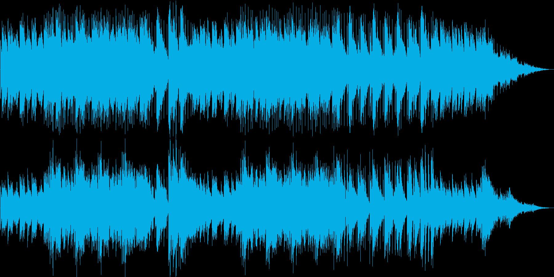 短いですが明るい感じで作りましたの再生済みの波形