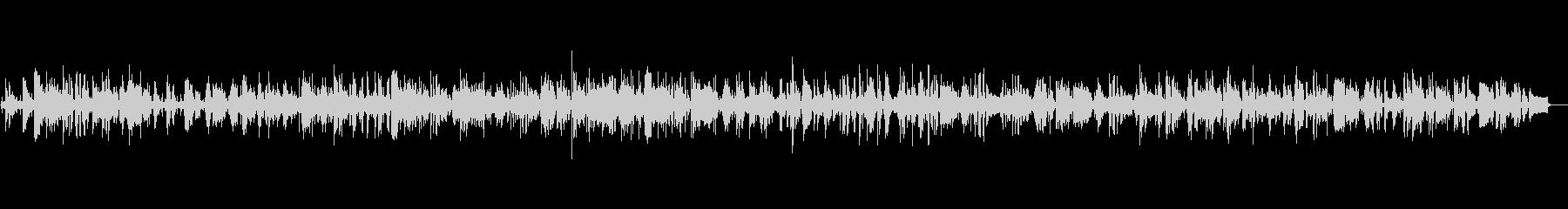 ピアノの落ち着きのあるジャズバラードの未再生の波形