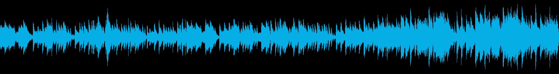 やさしいピアノとフルートが印象的な合奏の再生済みの波形