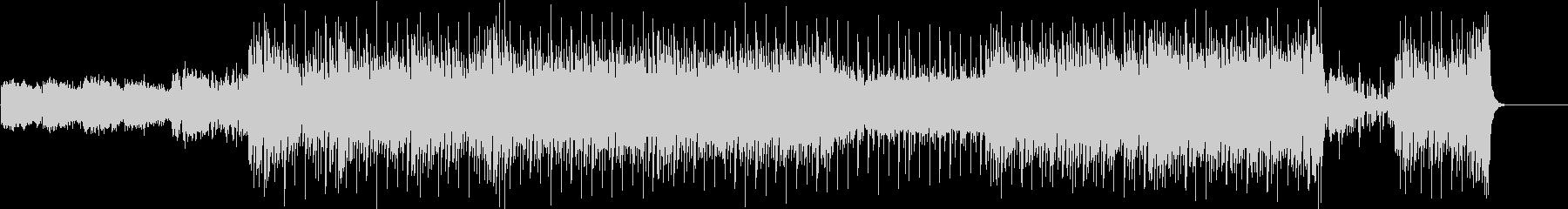 ジャジーなムードのトレンディー・サウンドの未再生の波形