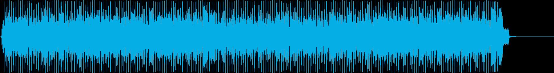 ブルーグラス的なバンジョーとフィドルの再生済みの波形