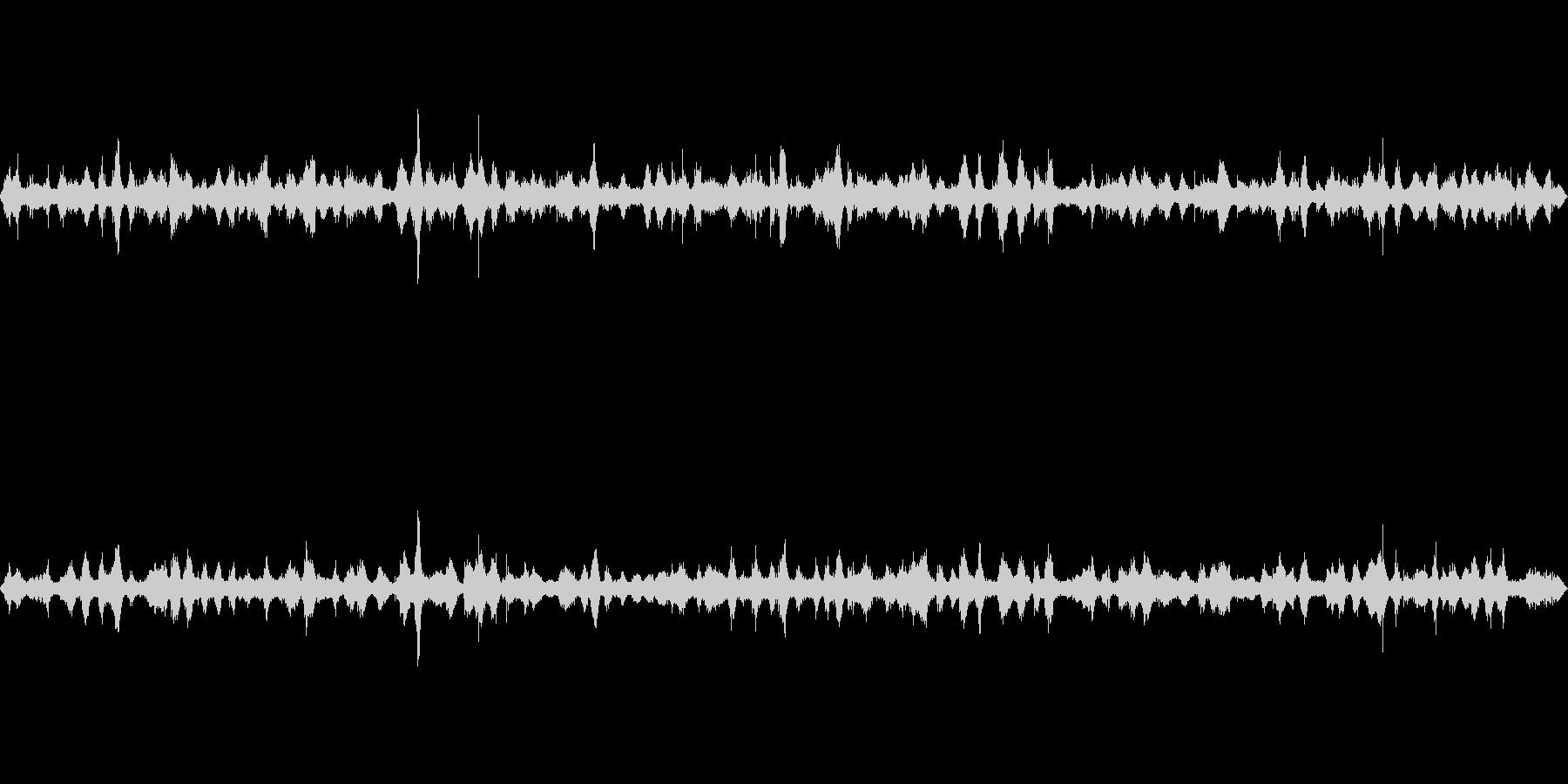 波の音~断続的な波1~砂浜~沖縄【生録】の未再生の波形