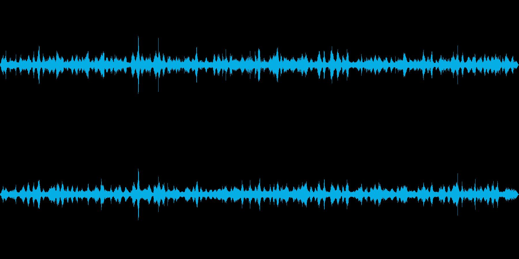 波の音~断続的な波1~砂浜~沖縄【生録】の再生済みの波形