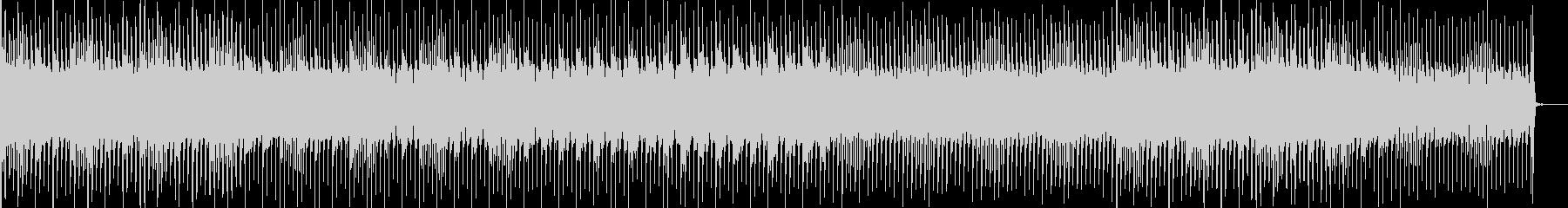 浮遊感のあるエレクトロポップのんの未再生の波形