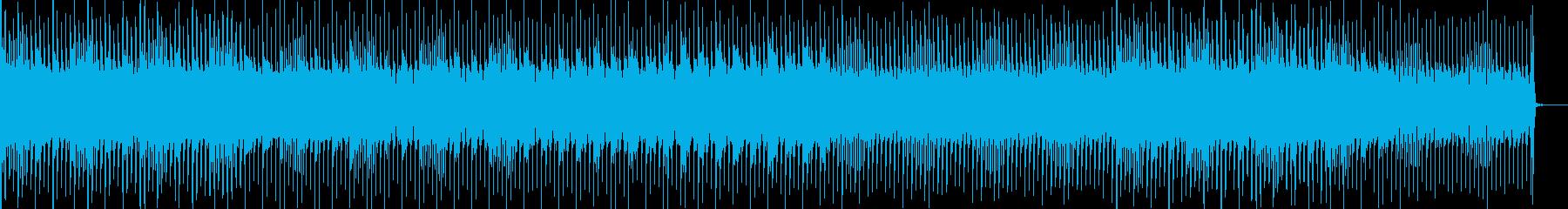 浮遊感のあるエレクトロポップのんの再生済みの波形