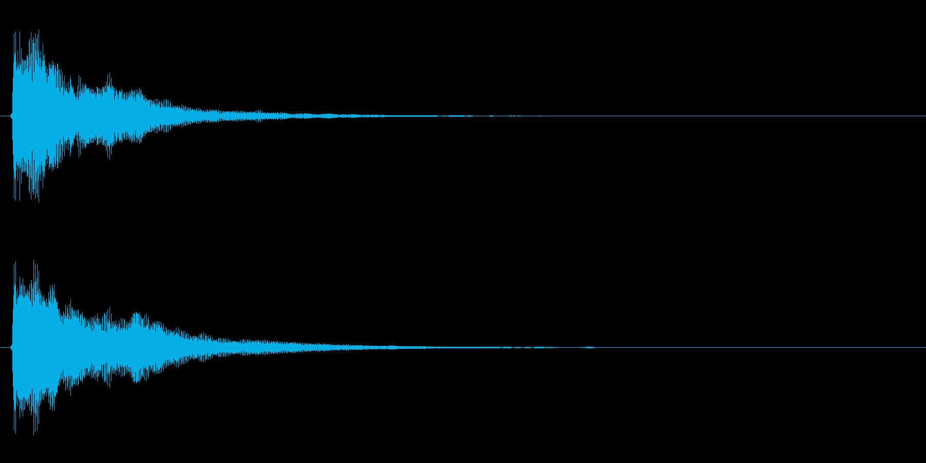 ピポン!の再生済みの波形
