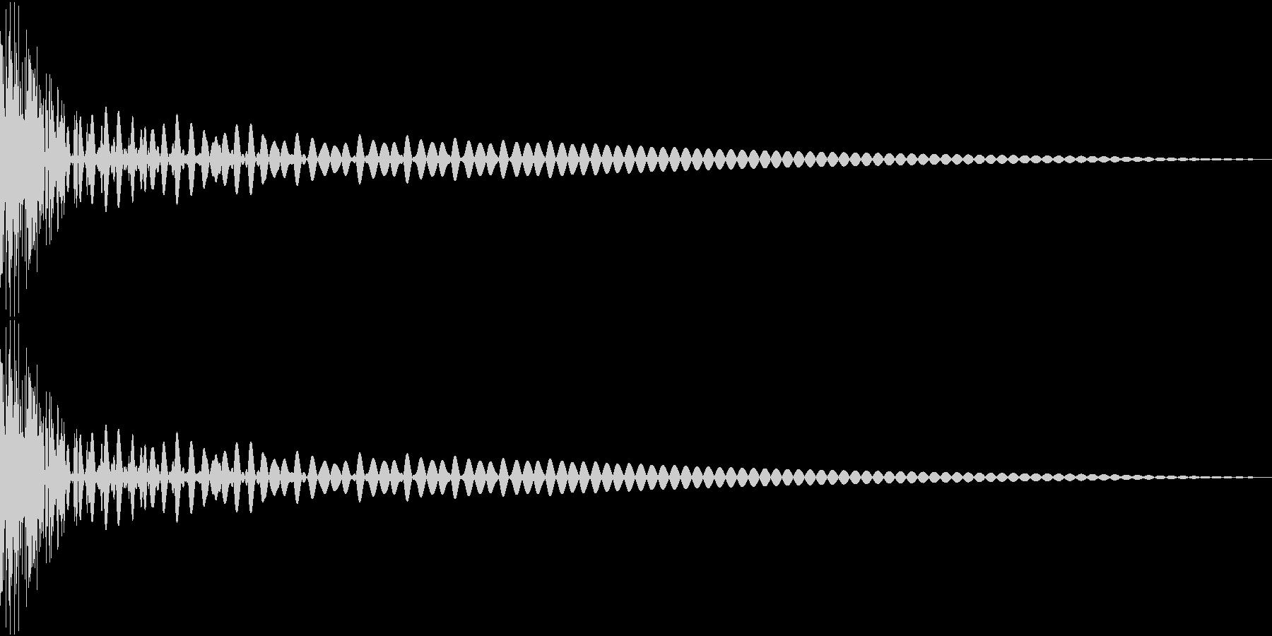 DTM Tom 1 オリジナル音源の未再生の波形