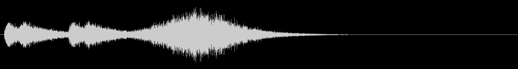 音楽ロゴ;マーチスネアの紹介。の未再生の波形
