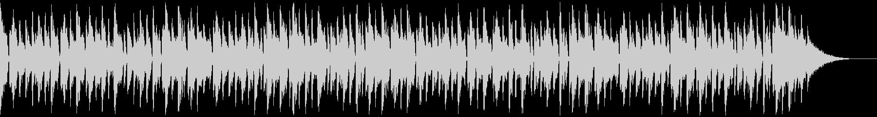ダンサンブルなフューチャーハウスの未再生の波形