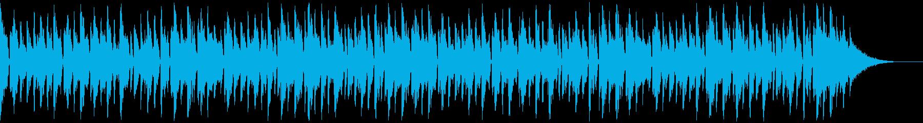 ダンサンブルなフューチャーハウスの再生済みの波形