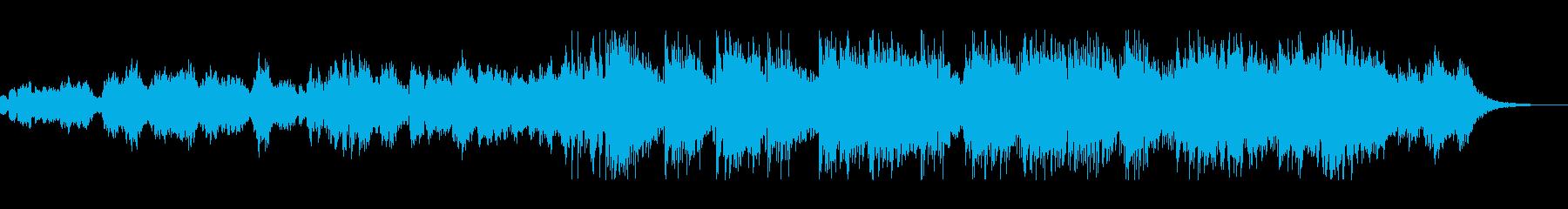 温もりと心地よさ感じるヒーリング曲の再生済みの波形