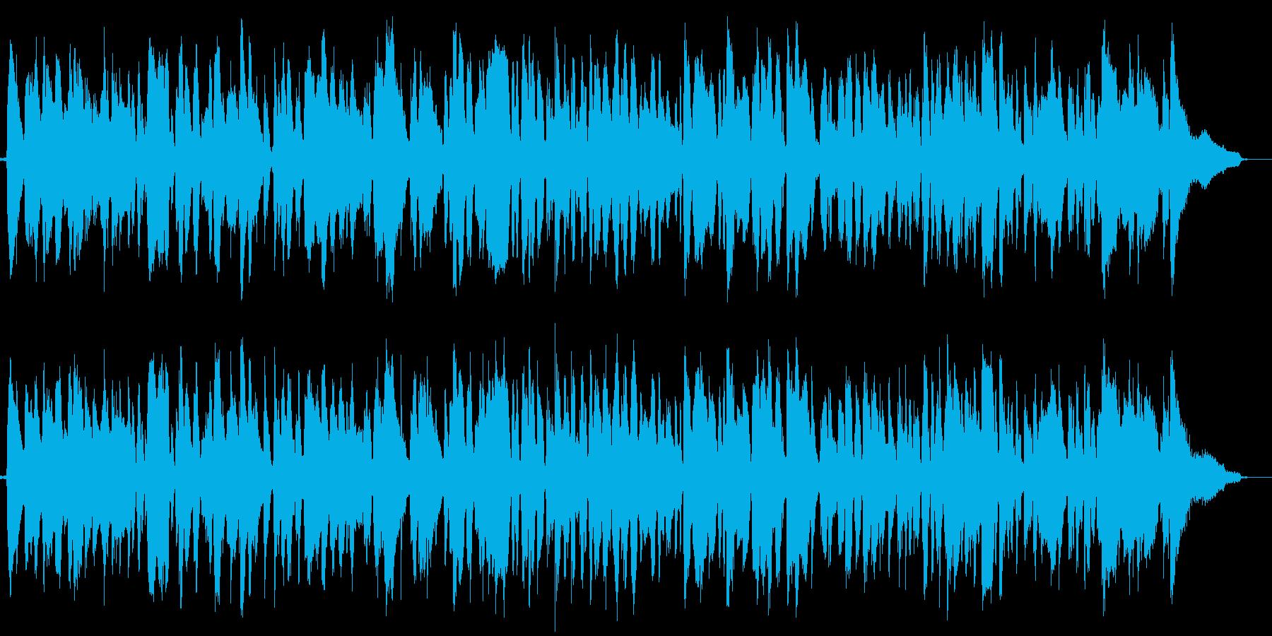 ハーモニカ生演奏マイナー調ボサノバソロ風の再生済みの波形