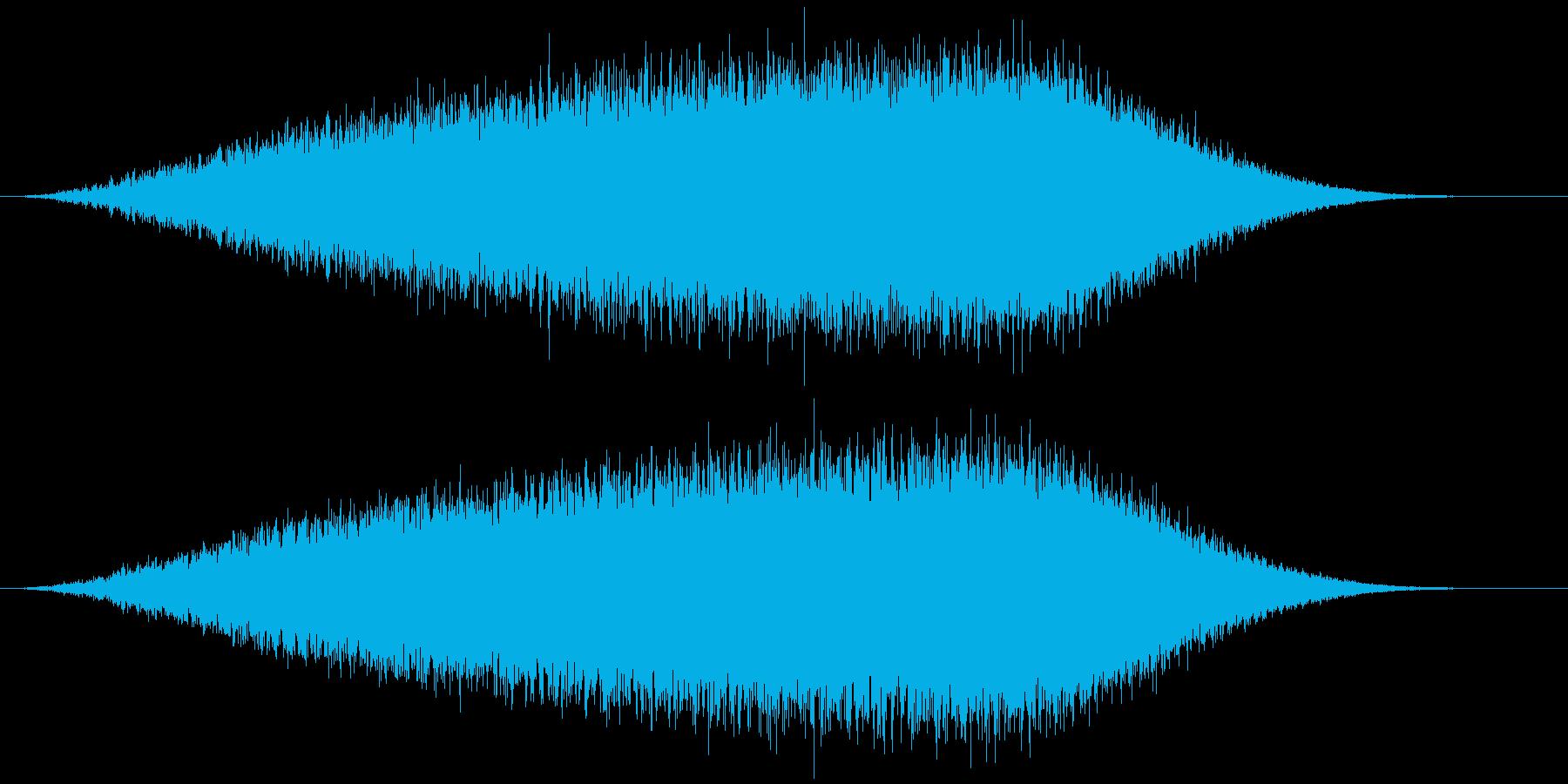 チャージ/溜める/キュイーンの再生済みの波形