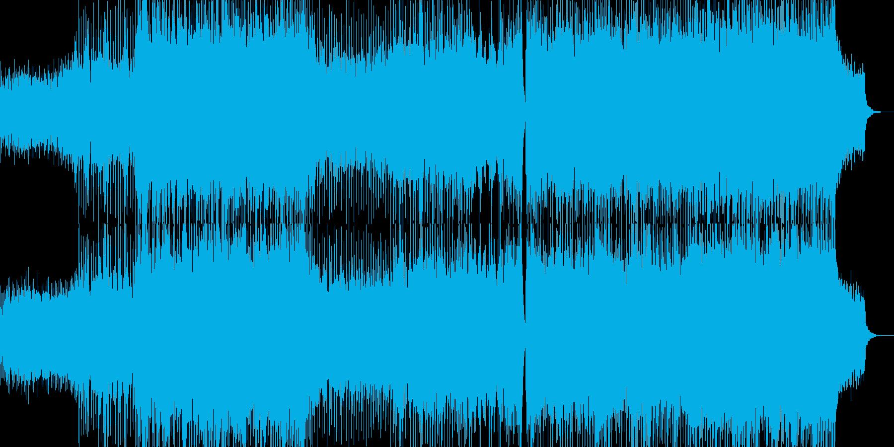 夢に向かって 感動のストリングス&ピアノの再生済みの波形