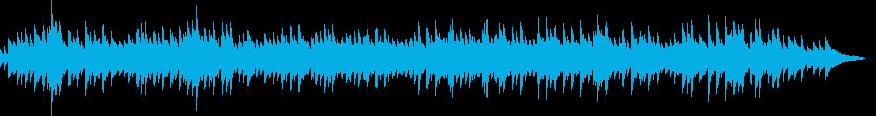 和風のピアノソロの再生済みの波形