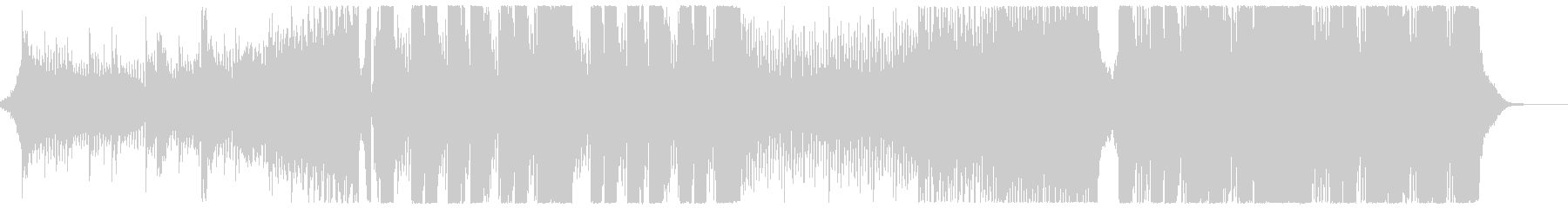 ワクワク感のあるダブステ曲の未再生の波形
