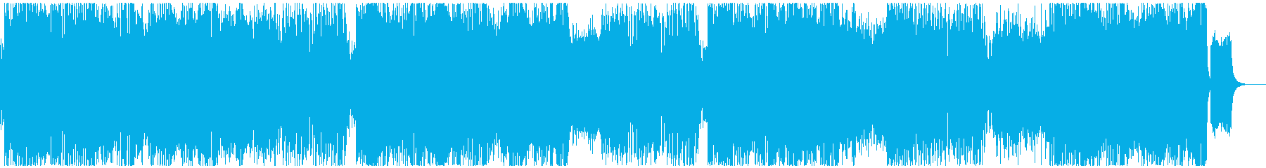 元気の出るテクノポップの再生済みの波形