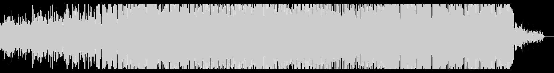 ノイジーなリズムのアンビエントIDMの未再生の波形