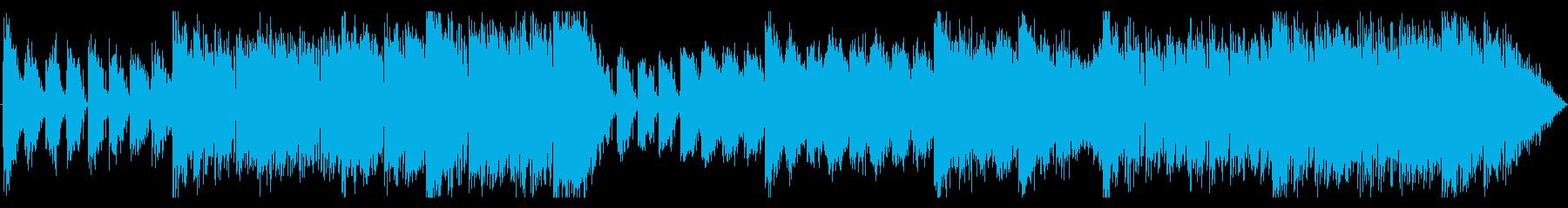 ダークでシリアスなエレクトロニカの再生済みの波形