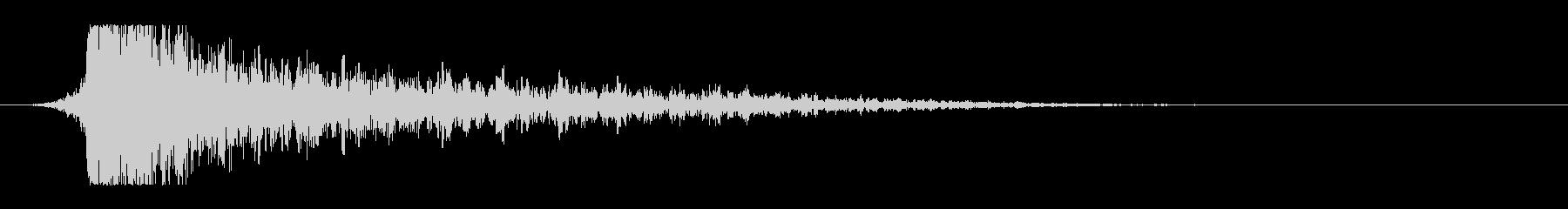 シュードーン-12(インパクト音)の未再生の波形