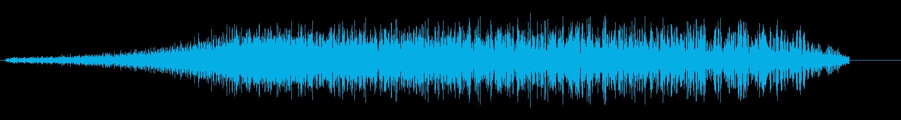 シュワー・ウン(拡張と縮小)の再生済みの波形